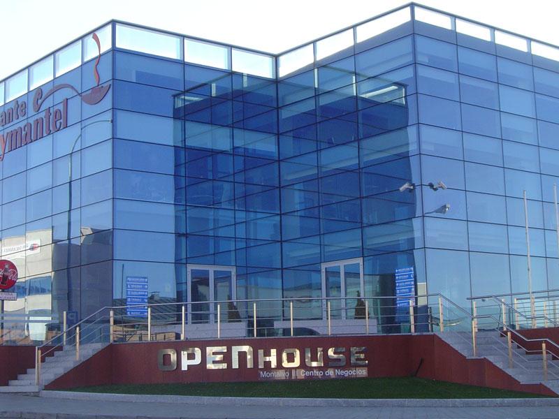 Open house fachada 01 alquiler de oficinas en salamanca for Oficina correos salamanca